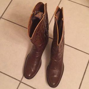 Super rare vintage HYER cowboy boots EVC 10.5D USA